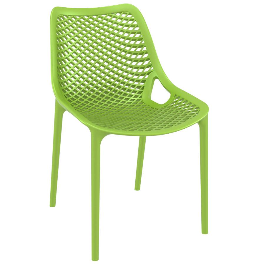 Moderne groene stoel 39 blow 39 uit kunststof ebay - Moderne stoel ...